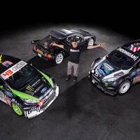 Ken Block pone a la venta tres emblemáticos coches de su colección, incluyendo el Ford RS200 de 700 CV