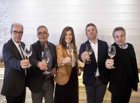 Miembros del jurado del 7º Premio Vila Viniteca de Cata por Parejas