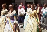 Las Fallas valencianas se vivieron en Granada este fin de semana