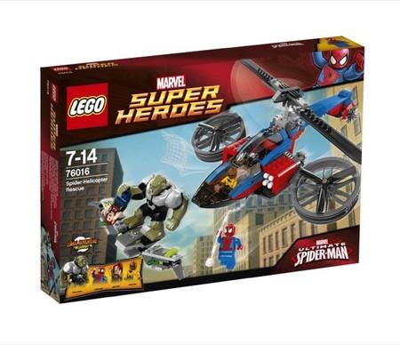 Se estrena la película de Spiderman y Lego lanza tres nuevos sets dedicados al hombre araña