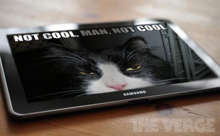"""""""No molan tanto"""", juez inglés desestima la demanda de Apple a Samsung por copiar el diseño del iPad con el Galaxy Tab"""