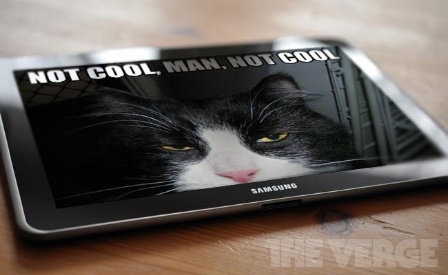 El Samsung Galaxy Tab no mola