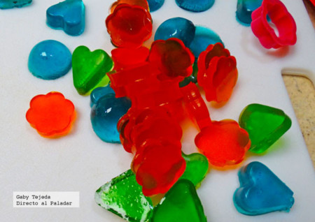 Receta para niños: Gomitas de grenetina o gominolas caseras. Cómo hacer