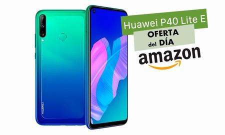 Hasta la medianoche, Amazon te deja el Huawei P40 Lite E más barato que ninguna otra tienda, por sólo 160,54 euros