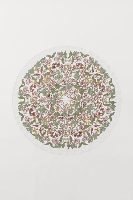 mantel mesa redonda