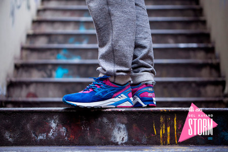 Asics Tiger Footpatrol Gel Kayano Blue 2
