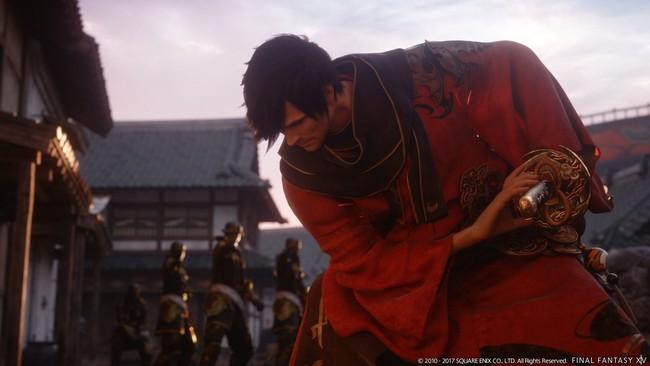 Final Fantasy Xiv Stormblood Samurai