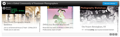 8 españoles en la lista de los Sony World Photography Awards 2012