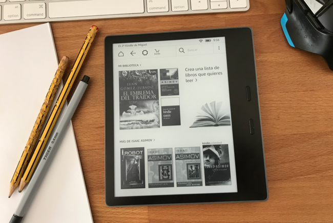 Amazon Kindle Oasis 2017, análisis: el mejor lector, pero no el imprescindible