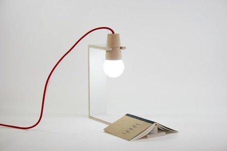 Lámpara corchete