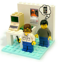 Set de Lego de Woz y Jobs
