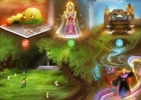 Imagen de la semana: soberbia ilustración de The Legend of Zelda: A Link Between Worlds