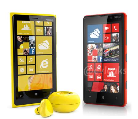 Más detalles de los Nokia Lumia 820 y Lumia 920