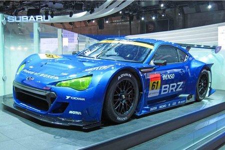 El nuevo Subaru BRZ se viste para la competición