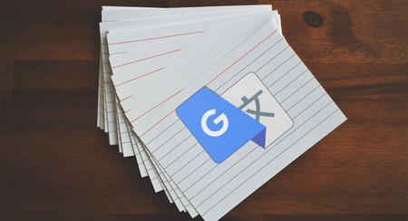 El traductor de Google te ayudará a aprender idiomas con 'flashcards'