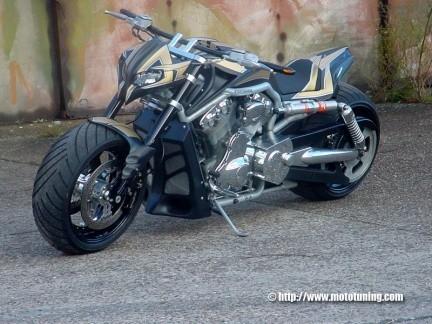 Harley Davidson V-Rod por Tecno Bike
