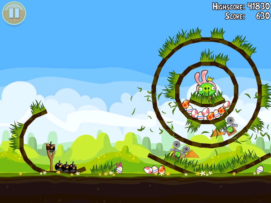Foto de Angry Birds Seasons en Pascua (1/2)