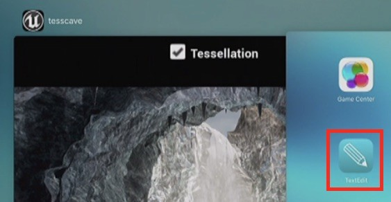Un icono de TextEdit asomó sospechosamente en el iPad durante la WWDC