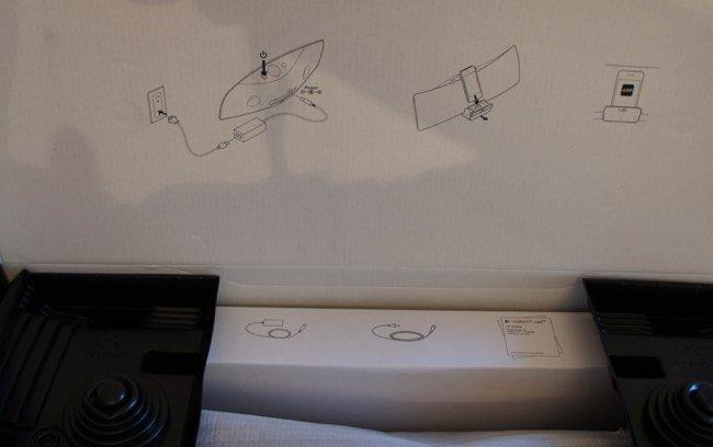 Inscripciones de uso en el interior de la caja