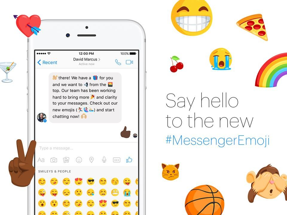 Facebook Messenger℗ Emoji
