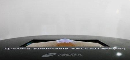 Samsung presentará el primer prototipo de una pantalla elástica esta semana