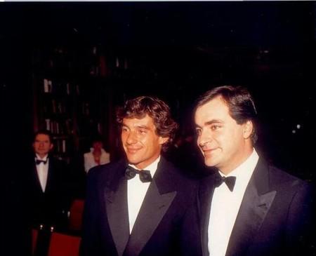 Ayrton Senna Carlos Sainz 1990