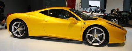 Ferrari 458 Italia en el Salón de Fráncfort 2009