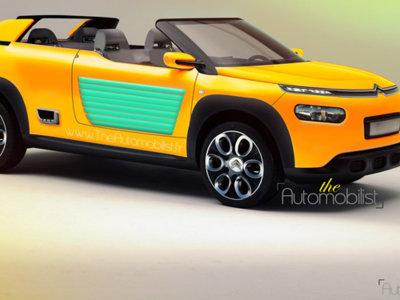 Citroën Cactus Méhari, un prototipo retro para el Salón de Frankfurt