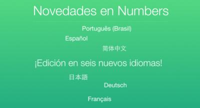 Las webs de iWork en iCloud, ya disponibles en español
