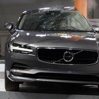 Y las primeras cinco estrellas del año de Euro NCAP son para... ¡Volvo S90 y V90!
