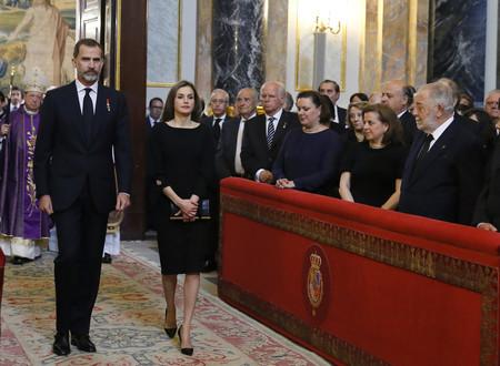 Dona Letizia De Funeral 1
