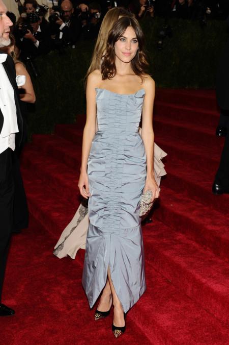 Alexa Chung Gala MET 2014 peor vestidas