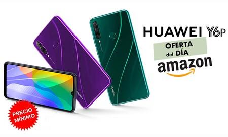 Precio mínimo en Amazon para el Huawei Y6p: hasta la medianoche sólo cuesta 109 euros