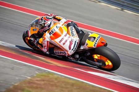 Marc Márquez, también el más rápido en la última sesión de test en Austin