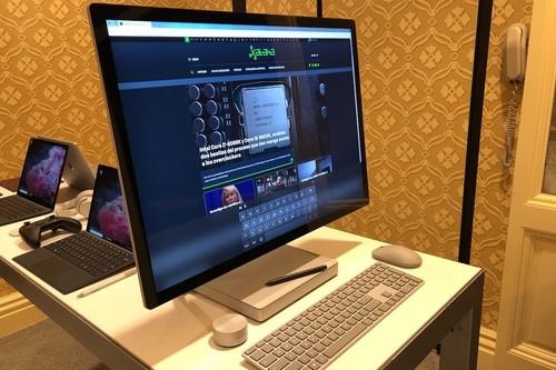 Microsoft Surface Studio 2, toma de contacto: un maravilloso diseño donde la pantalla roba todo el protagonismo