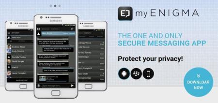 myENIGMA, otra aplicación para chatear de forma segura