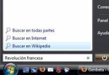 Truco: Agrega la Wikipedia a la caja de búsqueda del Menú Inicio de Vista
