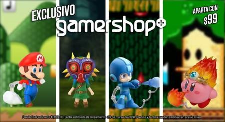 """Gamers venderá """"en exclusiva"""" algunos Nendoroid de videojuegos"""