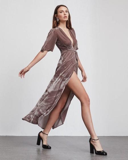 c00b31578a 1 18 Vestido de terciopelo rosa