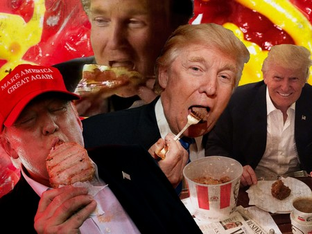 Donald Trump Dieta Comida Rapida 2