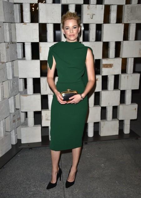 Elizabet Banks Vestido Verde 1