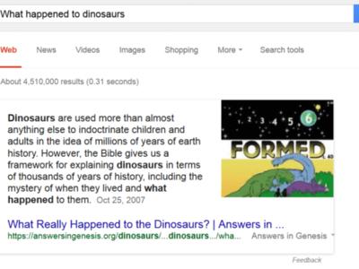 Google tiene un problema con sus respuestas rápidas que hace que estas difundan mentiras y rumores
