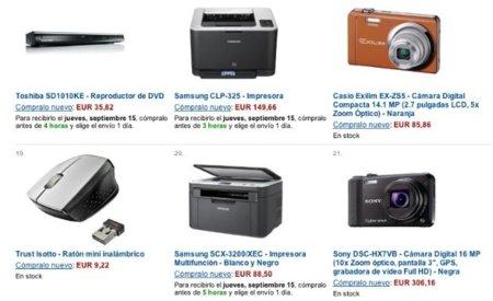 amazon electronica precios comparativa tienda españa