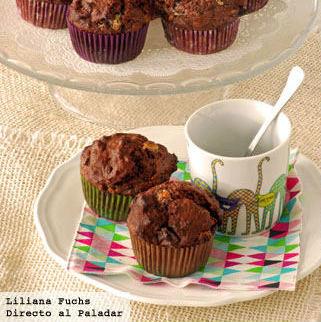 Receta de muffins de triple chocolate: una suculenta tentación para auténticos chocolateros