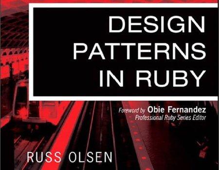 Libro sobre patrones de diseño en Ruby, ¿un lenguaje sencillo para aprender patrones?