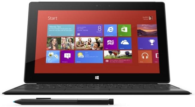 Sólo cuatro años de soporte para la Surface con Windows 8 Pro
