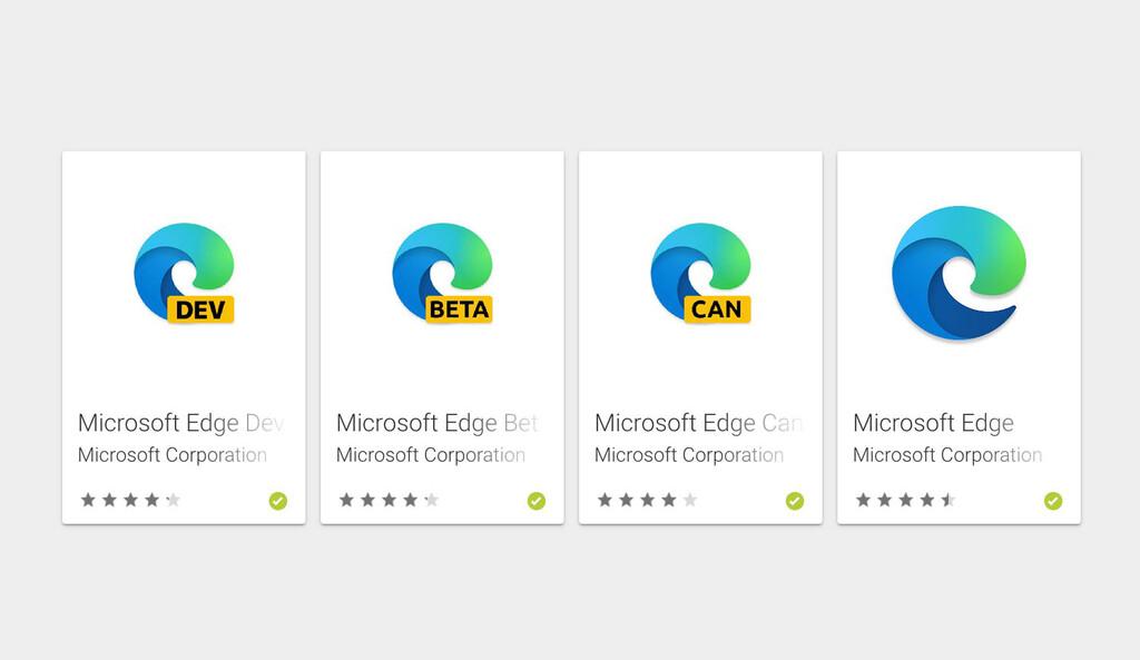 Microsoft ya tiene 4 navegadores web en Google™ Play: Edge Beta libre para descargar