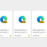 Microsoft ya tiene cuatro navegadores web en Google Play: Edge Beta disponible para descargar
