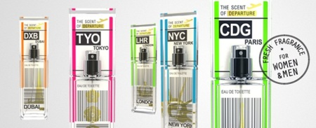 The Scent of Departure: perfumes con aroma a diferentes ciudades