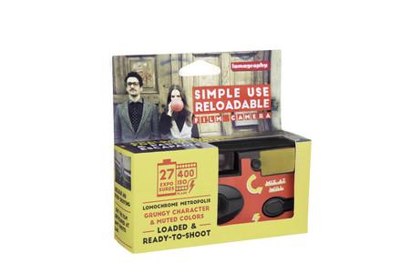 Simpleusereloadablecamera Lomochromemetropolis Lomography Packaging
